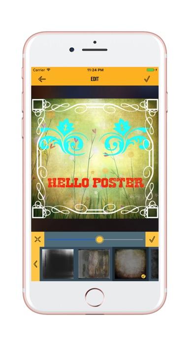 Poster designer poster maker ad flyer design app for Blueprint maker app