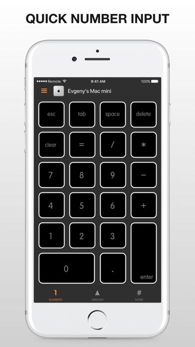 Remote KeyPad for Mac Screenshots