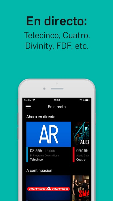download Mitele - TV a la carta apps 2