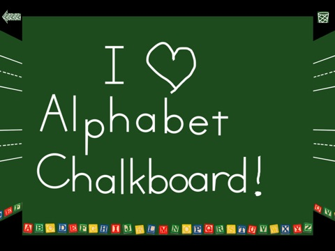 Alphabet Chalkboard screenshot 3