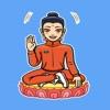 Стикеры Современный Будда STiK
