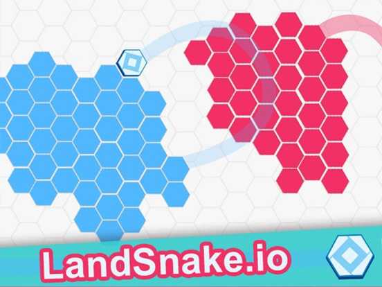 Screenshot 1 Land Snake.io