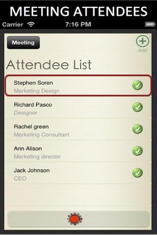 Meeting Notes screenshot 4
