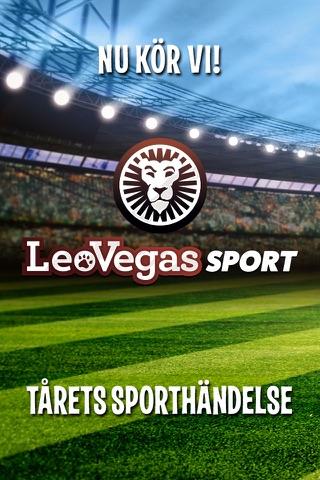 LeoVegas Sport Betting screenshot 1