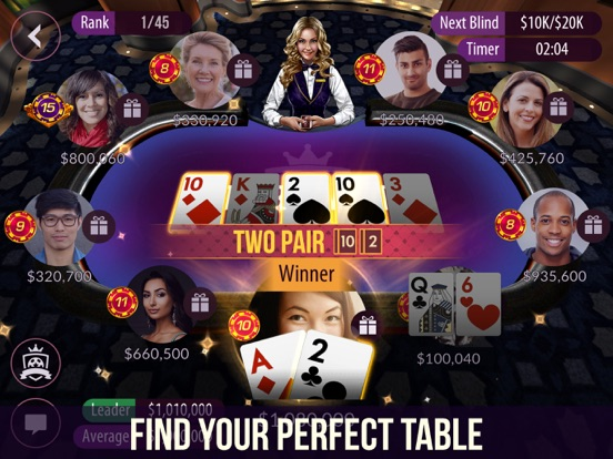 Zynga Poker - Texas Holdem Screenshots