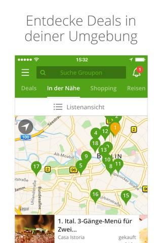 Groupon screenshot 2