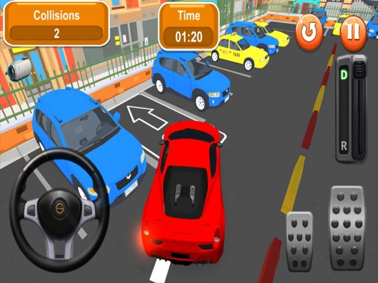 Мастер Парковки Города 3D Скриншоты7