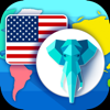 komplexholdings - GeoQuest: World flags, capitals, geoguesser quiz  artwork