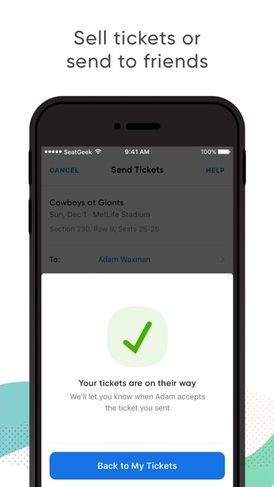 download SeatGeek - Buy Event Tickets apps 0