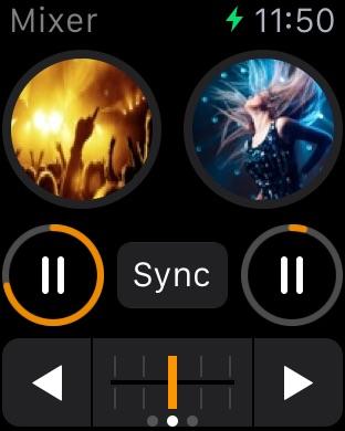 djay 2 für iPhone Screenshot