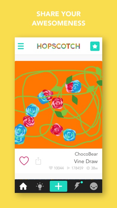 Hopscotch: Learn to Code, Make your own game Screenshot