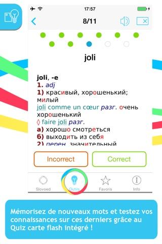 Французско <> русский словарь screenshot 4