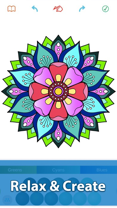 Easy Coloring Book For Adults On The App Store