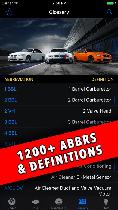 BMW App! Screenshots