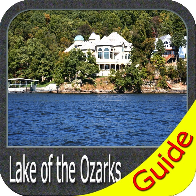 Lake of the Ozarks  fishing maps gps charts on the App Store