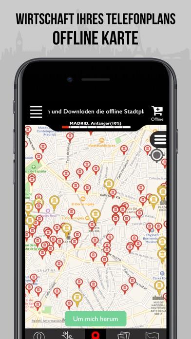 Madrid Reiseführer - offline Karte Screenshot