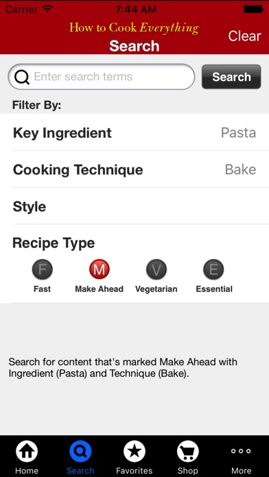 How to Cook Everything Screenshots