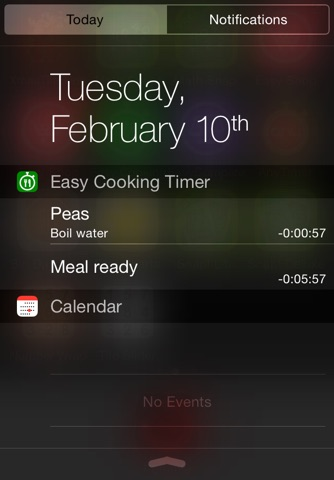 Easy Cooking Timer screenshot 2