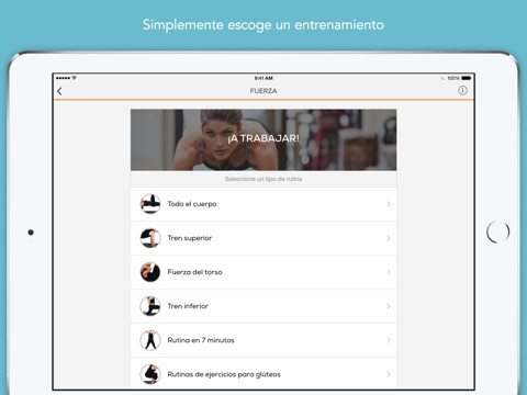 Sworkit: Workouts & Plans screenshot 2