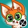 Fox - Beautiful cute stickers