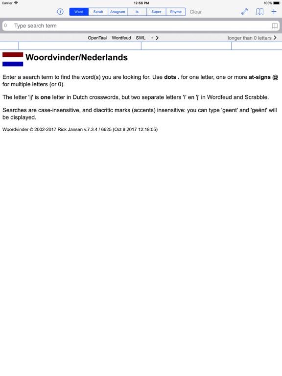 NL Woordvinder Nederlands PRO Скриншоты7