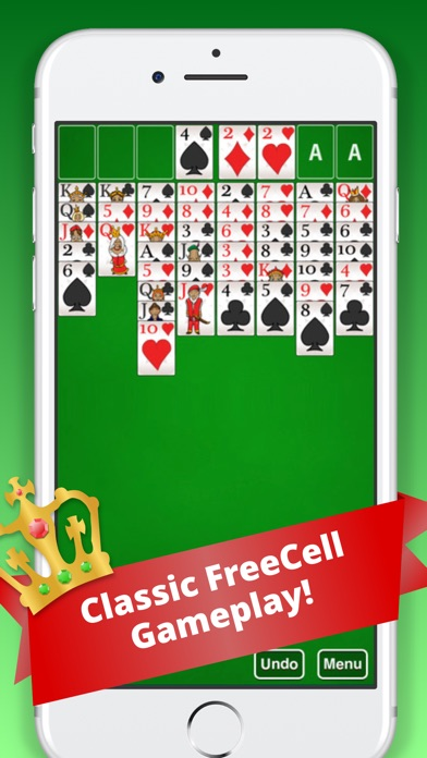 Screenshot von FreeCell Classic :)1