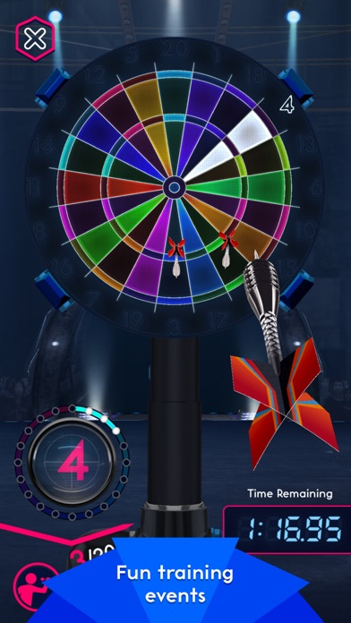 Screenshots of Darts of Fury for iPhone