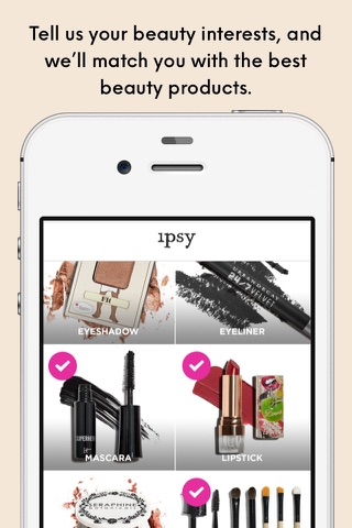 ipsy - Beauty, products & tips screenshot 1