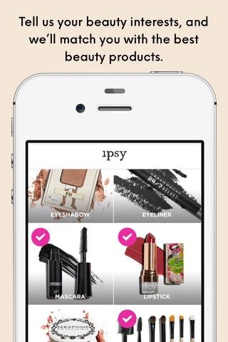 ipsy - Beauty, products & tips screenshot 1