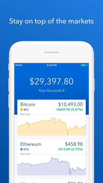 Coinbase - Buy Bitcoin & moreのおすすめ画像1