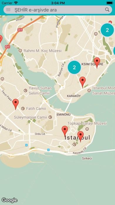 Screenshot for Unutma İstanbul in Denmark App Store