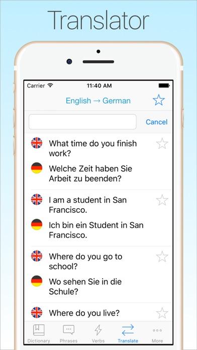 Screenshot #7 for German Dictionary & Translator