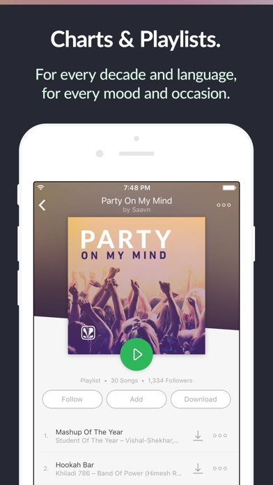saavn++ screenshot 2