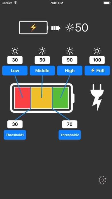 Dimmer -Adjust LCD brightness- on the App Store