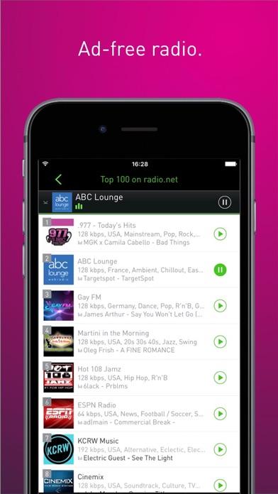 radio.net PRIME Screenshots