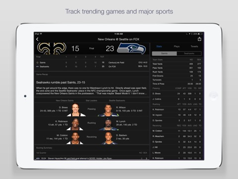 Yahoo Sports: Football & More screenshot 3