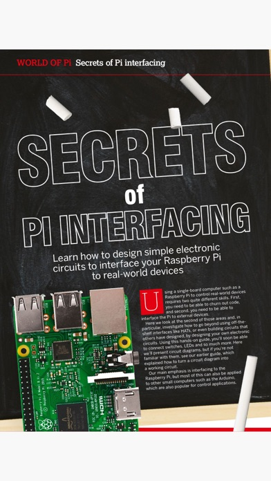 Pi User Magazine review screenshots