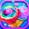 Unicorn Ice Cream Sundae
