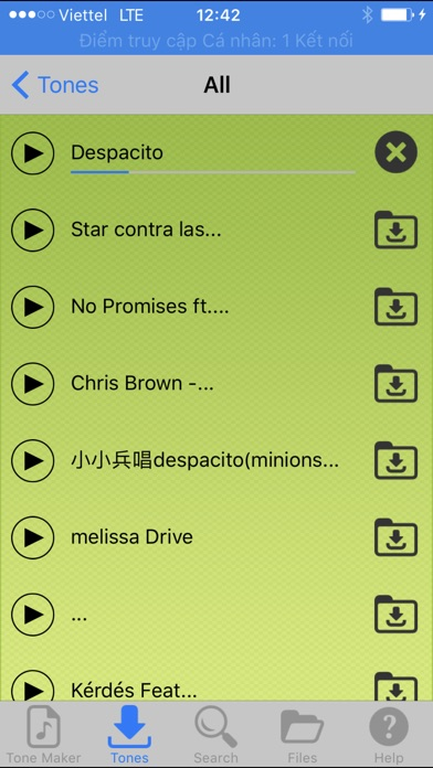 Ringtones Pro For iPhone Screenshots