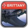 離線地圖 法國布列塔尼: City Navigator Maps
