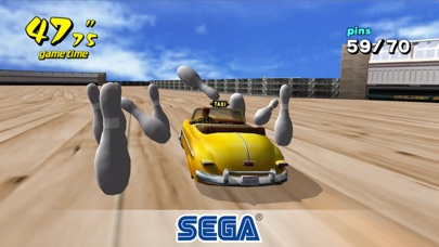 Screenshot of Crazy Taxi Classic4