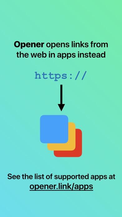 Opener ‒ open links i... screenshot1