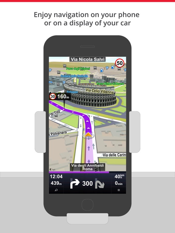 Car Navigation: Maps & Traffic Screenshots