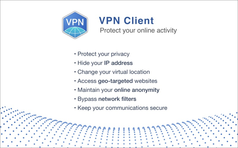 VPN Client Screenshot - 1