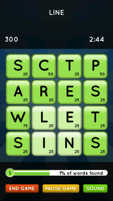 Word Seek HD Screenshot