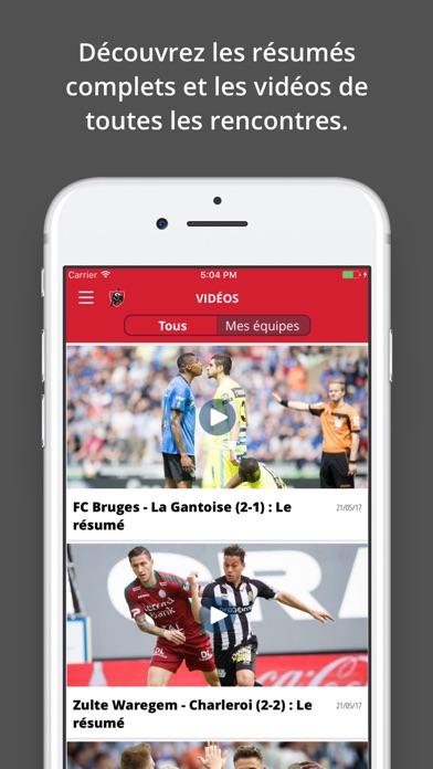 Jupiler Pro League - officialCapture d'écran de 3