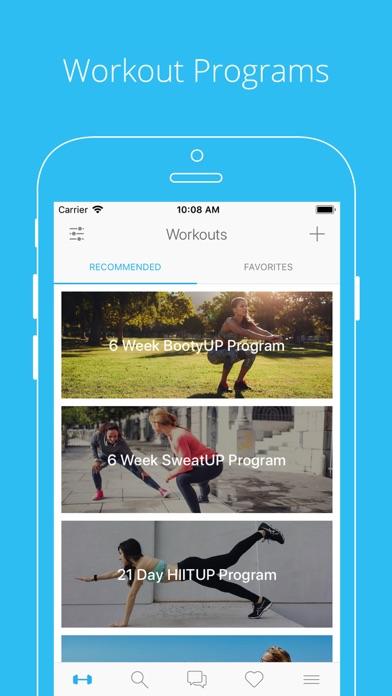 PumpUp - Workouts & CommunityCapture d'écran de 1