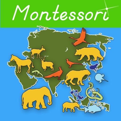 亚洲动物园:Animals of Asia – A Montessori Approach To Geography HD