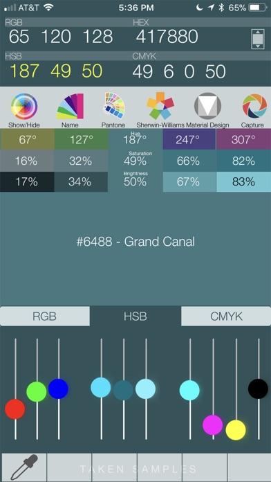Color Query Pro screenshot 2