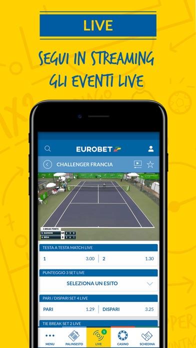 Eurobet Scommesse Sportive Screenshot